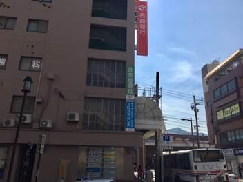 チトセピア側より隣の長崎銀行の3F